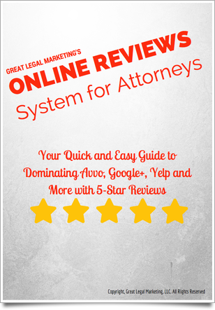 Getting Online Reviews for a Law Firm