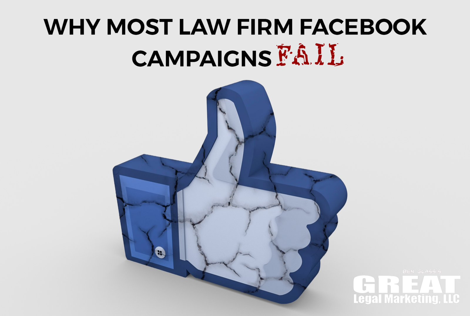 Why more law firm facebook campaings fail to bring in more clients.