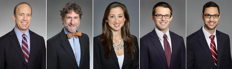 The team of criminal defense attorneys