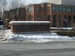 Fairfax Virginia Courthouse sign