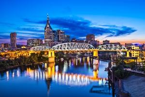 View of Nashville skyline
