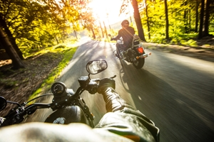 Riding a motorcycle in Tennessee