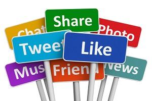 popular social media platform icons