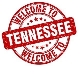 Welcome to Tennessee grahpic stamp