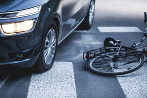 risks of bicycle crash