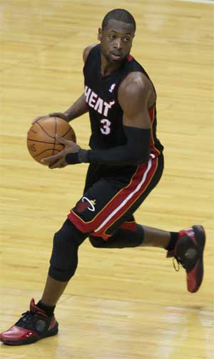 D-Wade suffering from Plantar Fasciitis