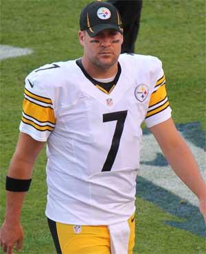 NFL's Big Ben of the Pittsburgh Steelers
