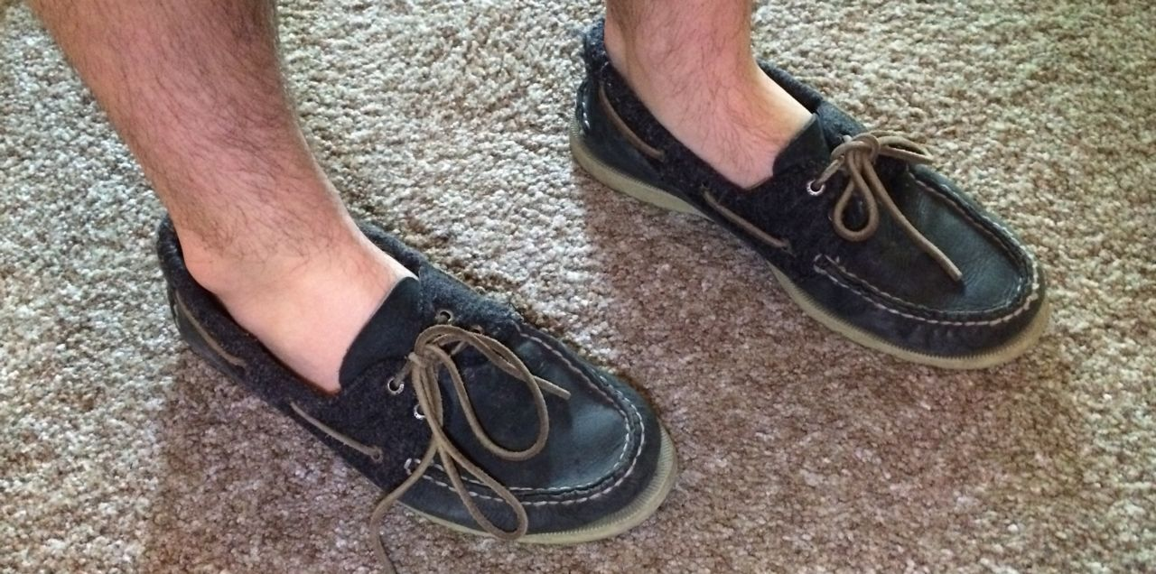 Athlete's Foot with Moccasins and Boat Shoes | Healthmark Foot ...