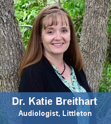 Dr Katie Breithart, an Audiologist at Hearing Rehab Center in Littleton