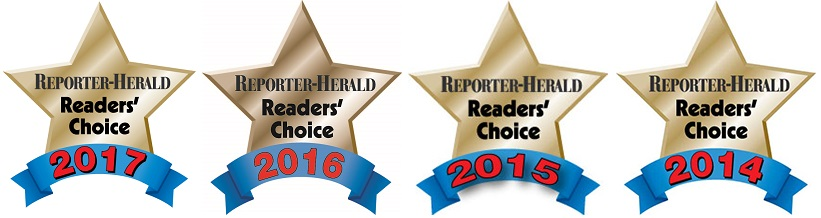Readers choice gold star awards 4 years in a row