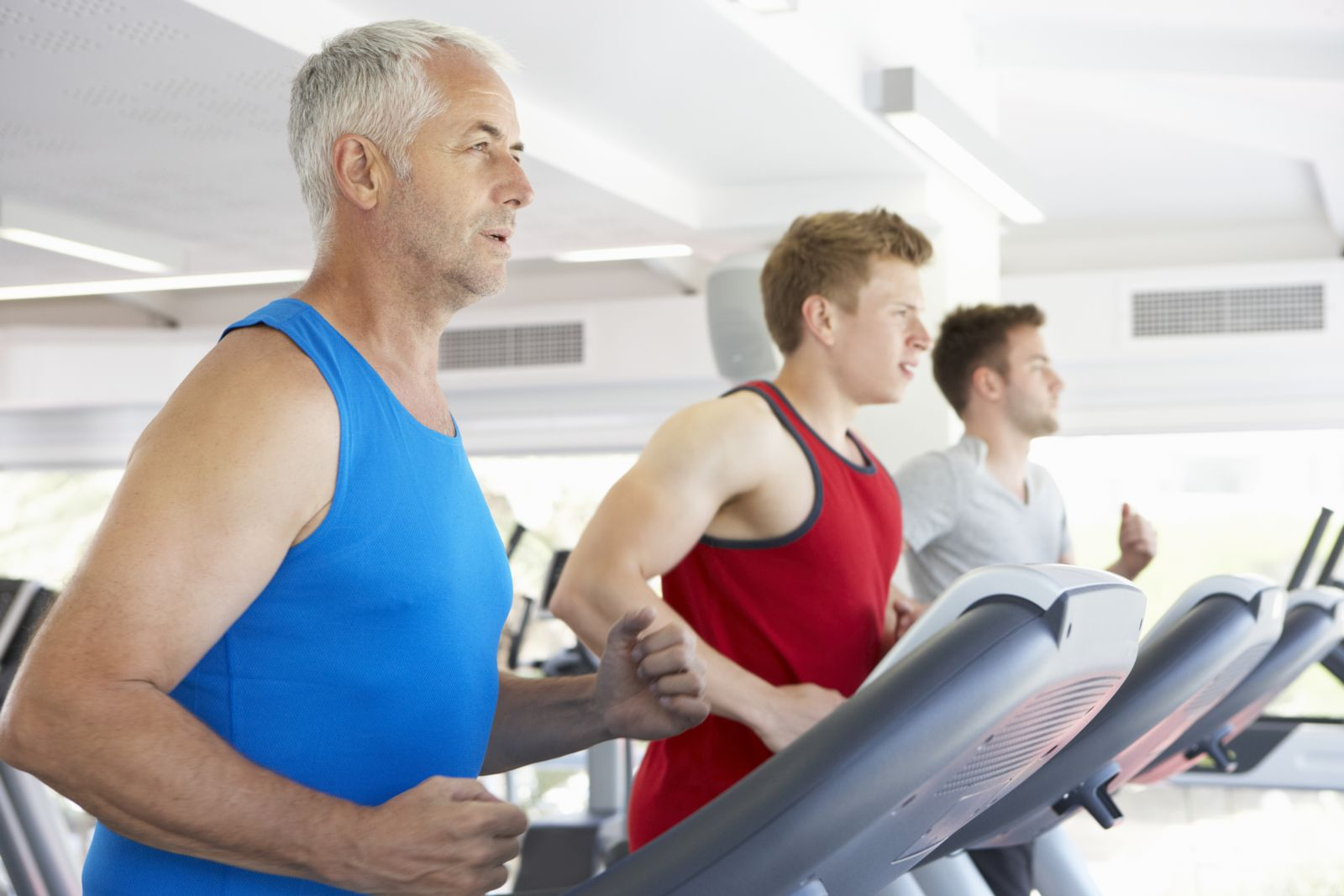 Men working out for better health