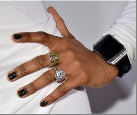 Jennifer Hudson's Nails