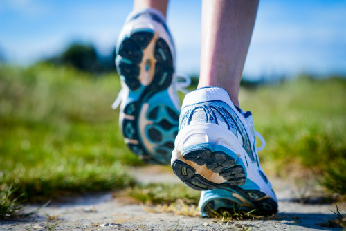 Take care of running shoes