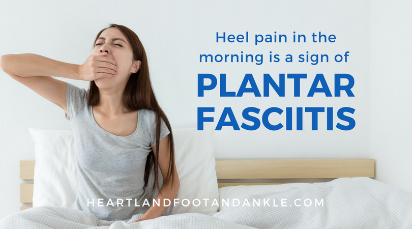 Heel Pain in the Morning