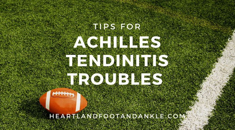 Achilles Tendinitis Tips