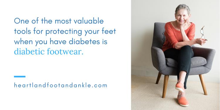 benefits of diabetic footwear