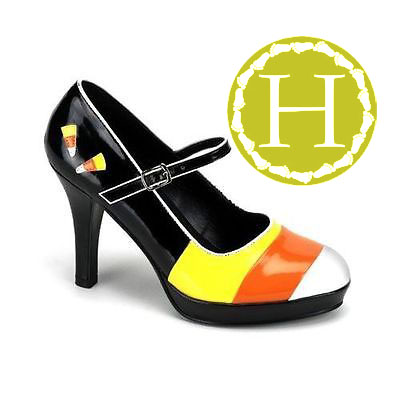 Candy Corn Heels