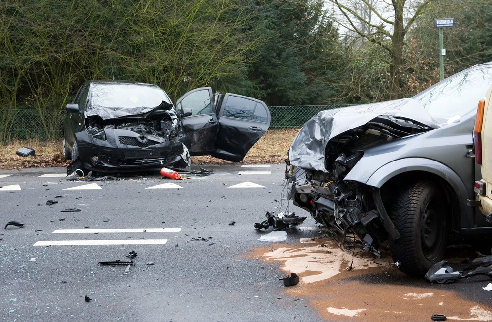 Recovering property damage after an accident