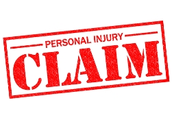 Red Personal Injury Claim Stamp