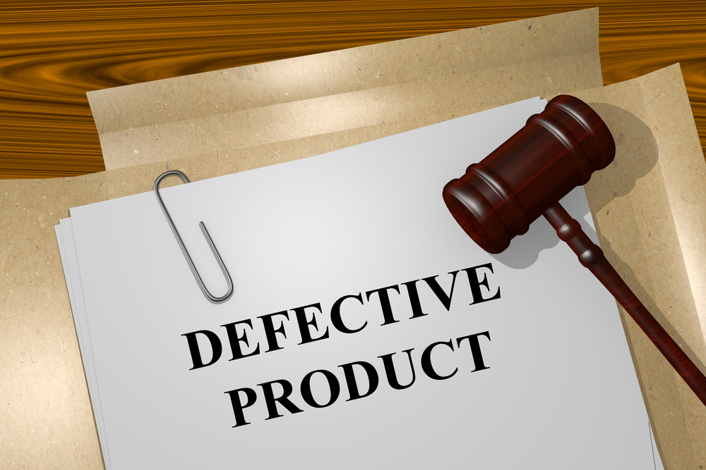 Defective product claims