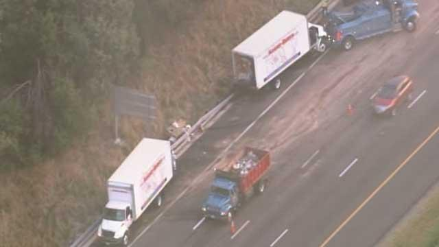 I-95 tractor-trailer wreck