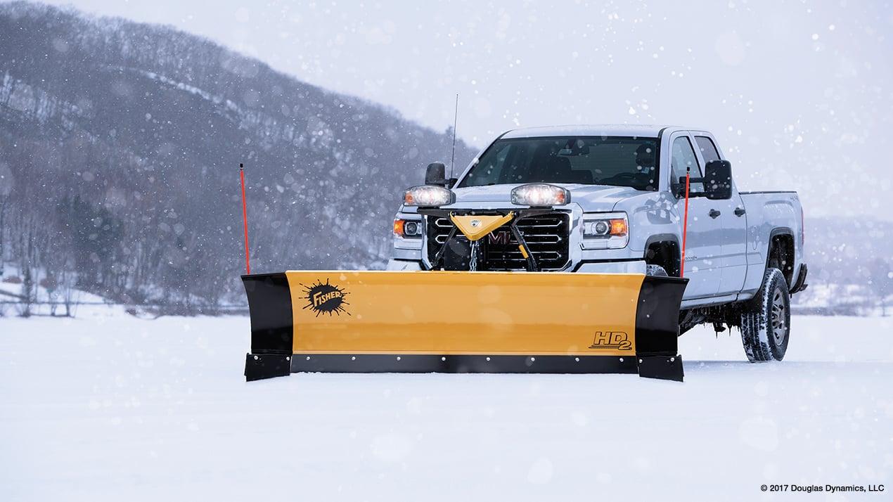 VA snow plow accident