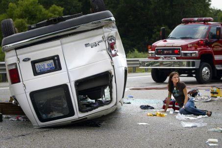 NC van accident attorney