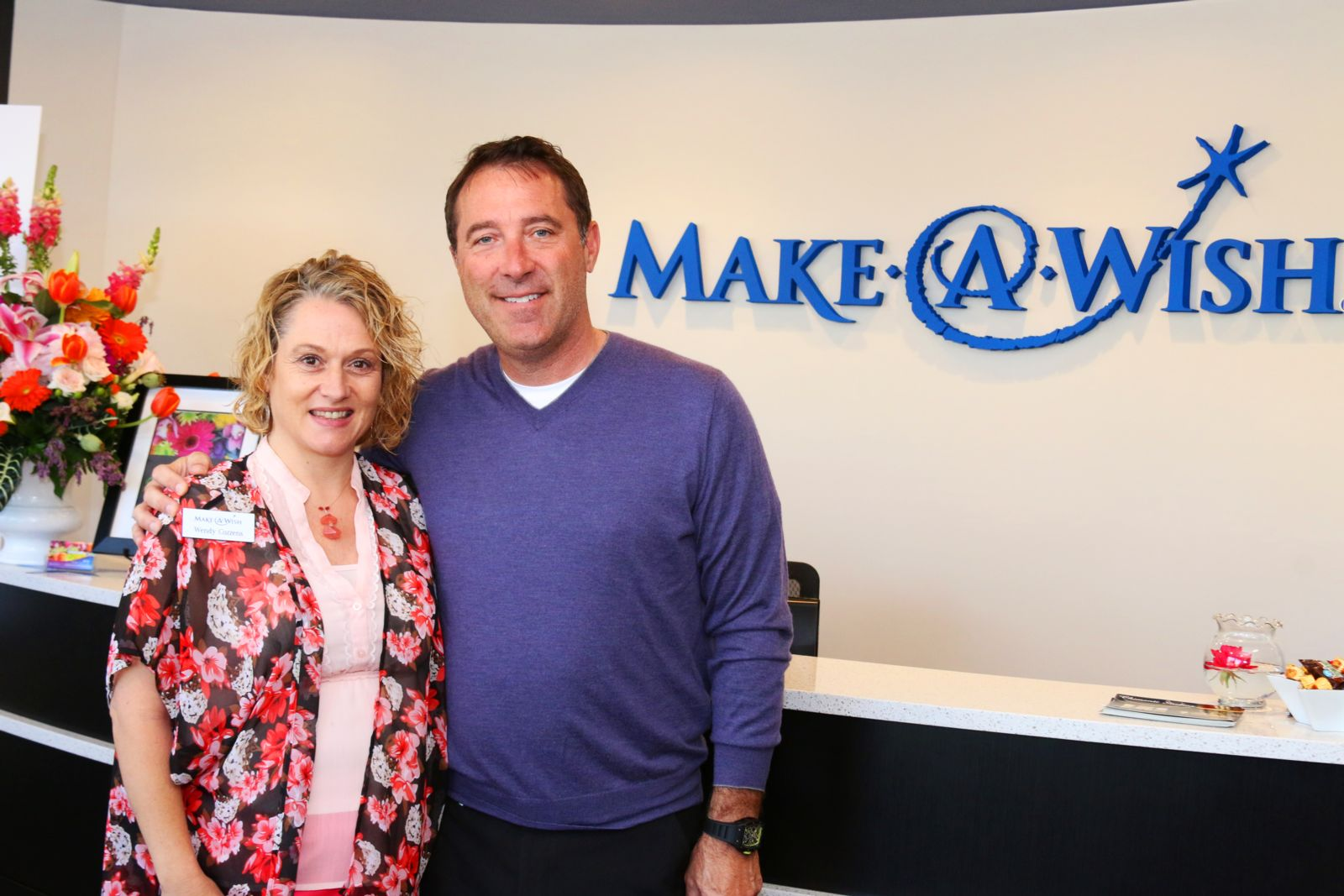 Attorney Jason Abraham at Make A Wish
