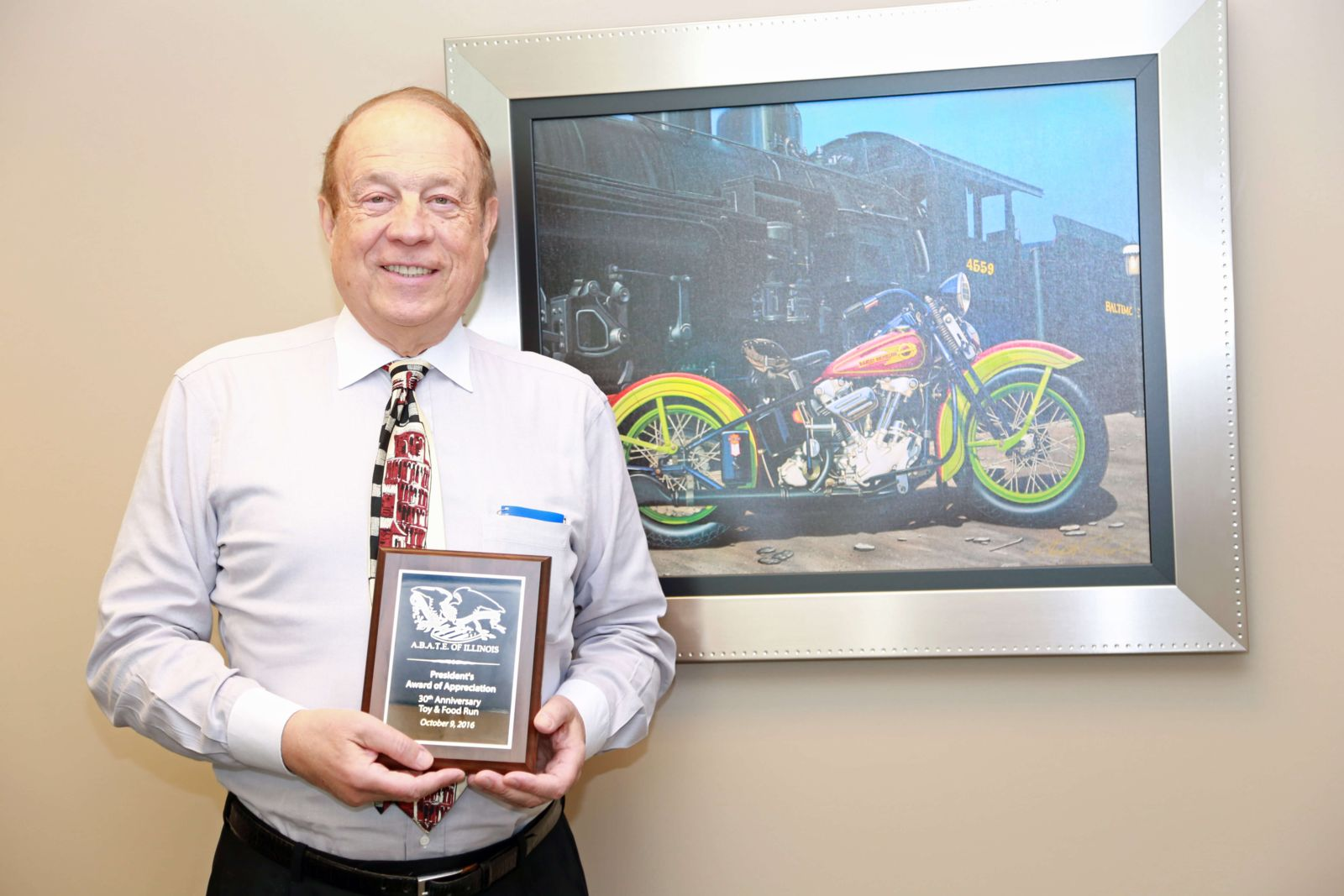 Attorney Michael Hupy awarded as top sponsor