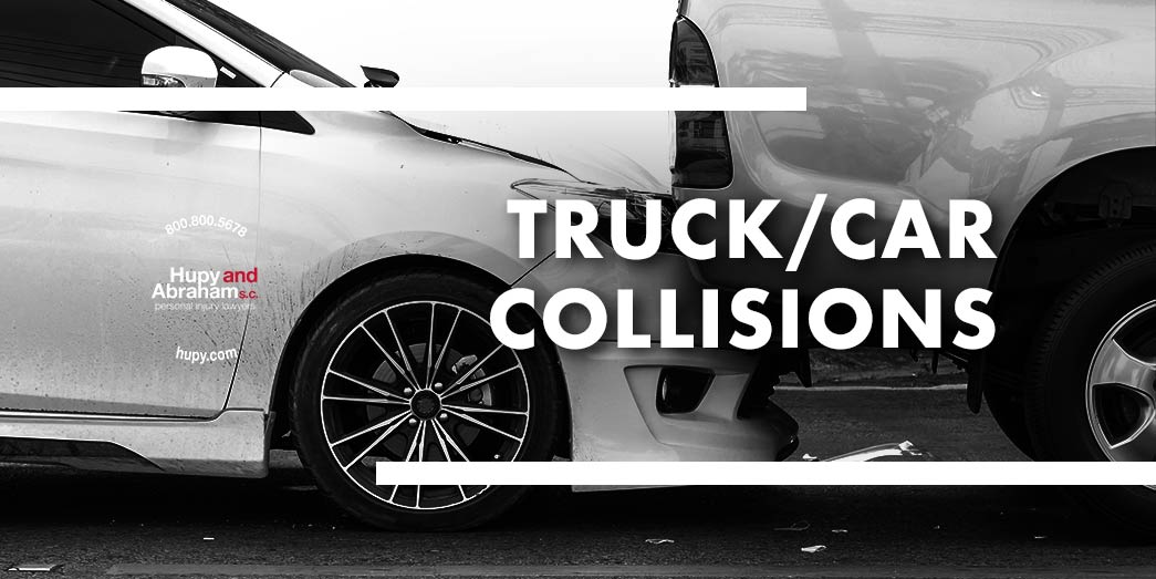 Truck and Car Collision