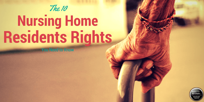 Nursing home residents deserve protection for their fundamental rights