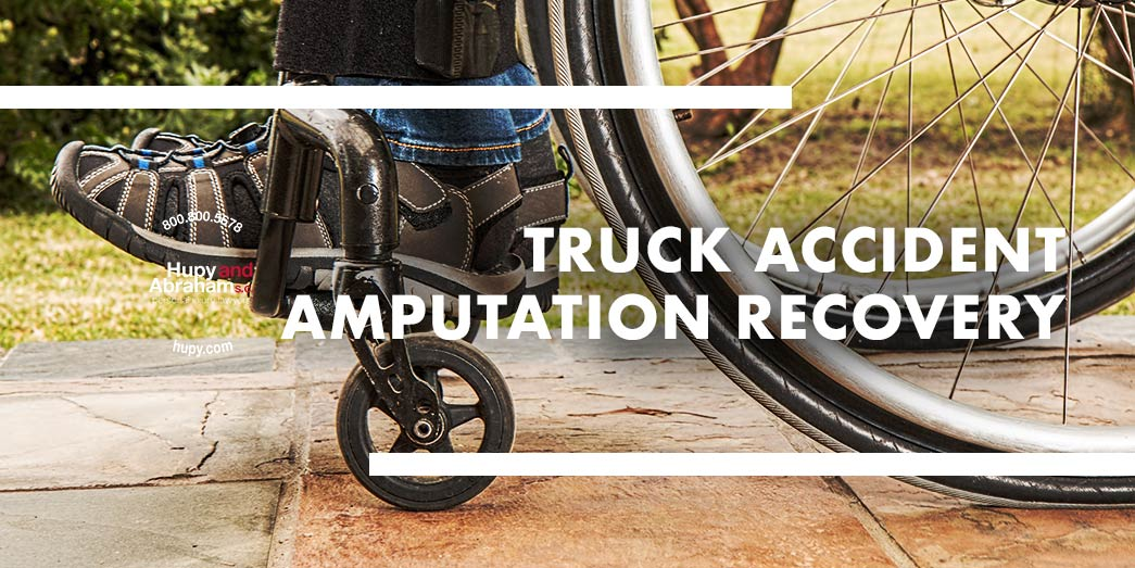 Truck Accident Amputation Recovery
