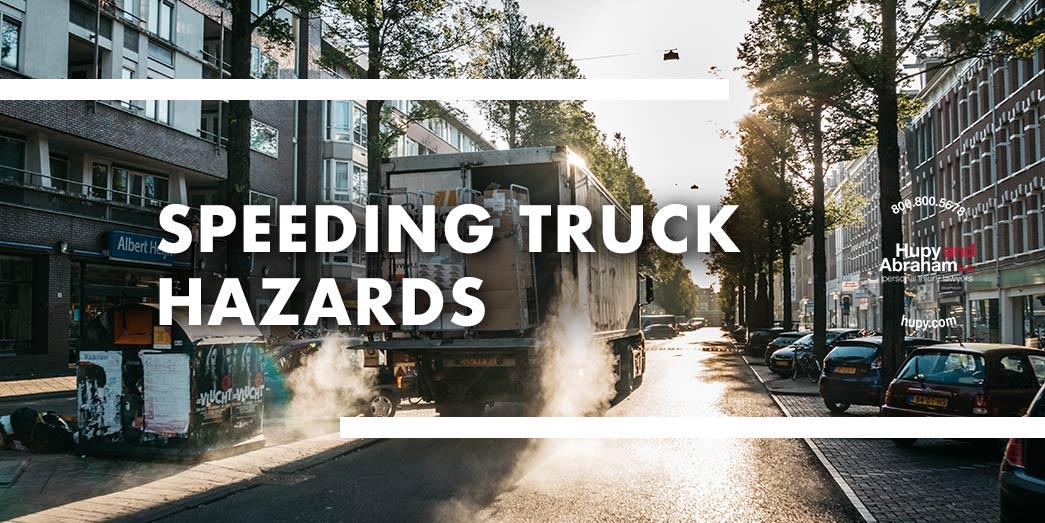 Chevy truck traveling around a corner