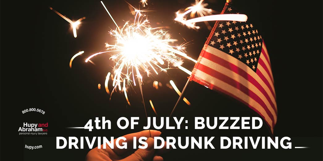Warning for 4th of July: Buzzed Driving is drunk driving