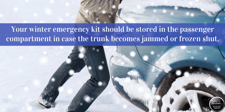 15 essentials for your winter emergency kit.
