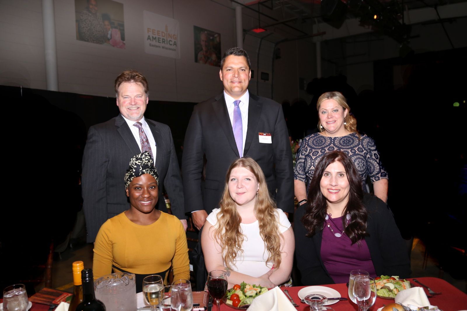 Hupy and Abraham team Helping Hunger Relief at Annual Grateful Plate Event