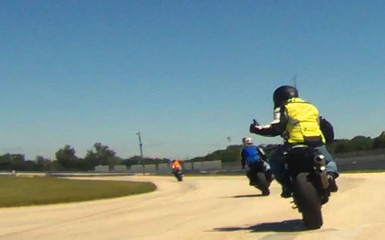 Bikers for the speed street skills
