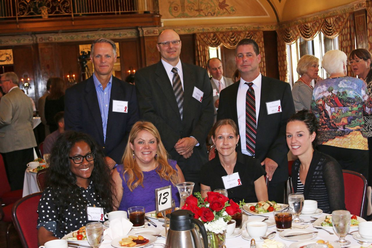 Hupy and Abraham staff attending the Red Ribbon Patron Luncheon