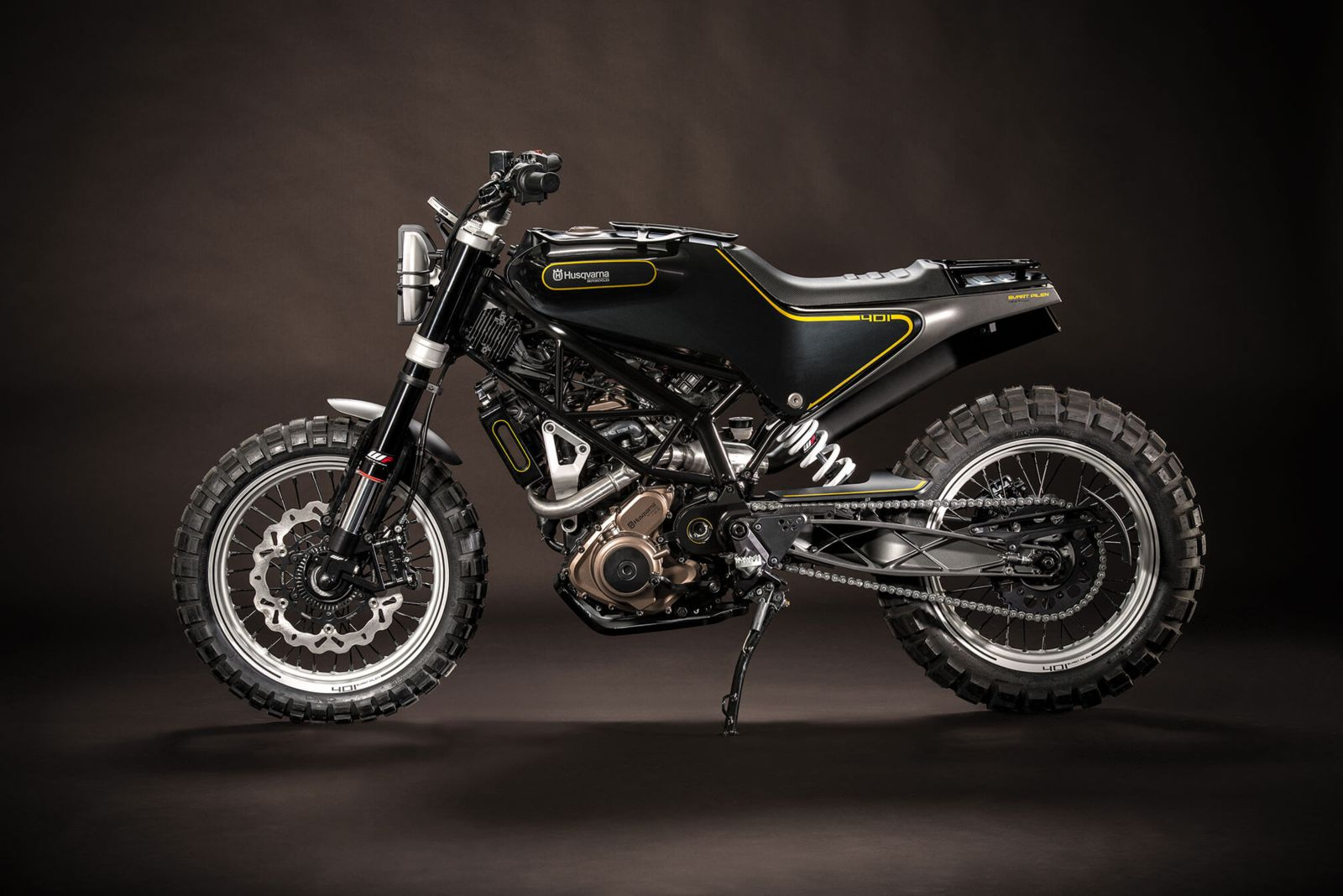 401 Svartpilen motorcycle