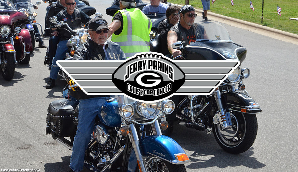 Greater Green Bay community foundation Jerry Parins motorcycle cruise for cancer