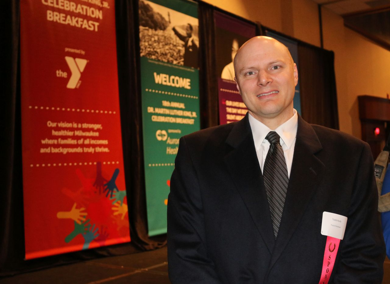 Hupy and Abraham Shareholder Todd Korb at the 18th Annual MLK Celebration Breakfast