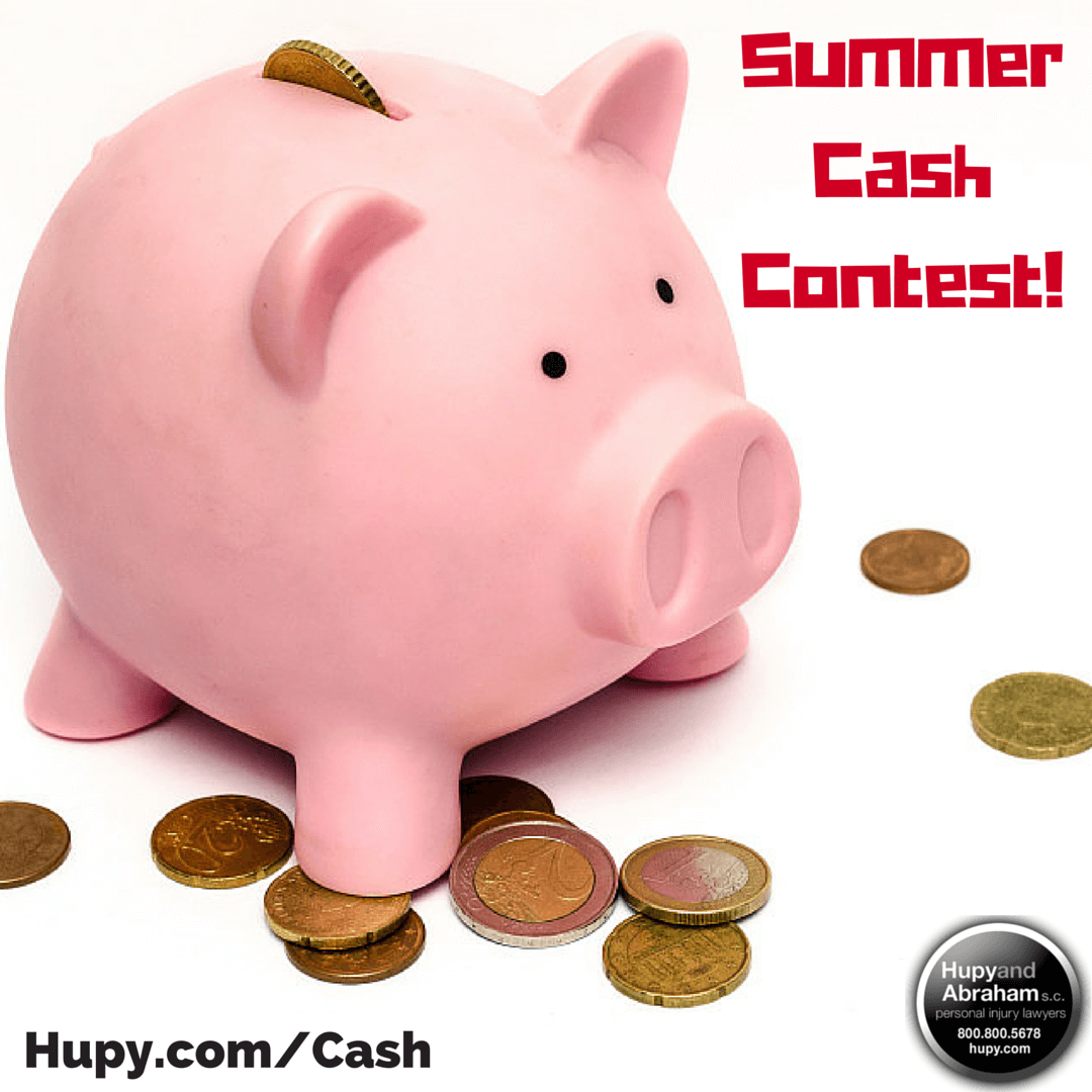 To say thank you, the Hupy and Abraham Summer Cash Giveaway is back!