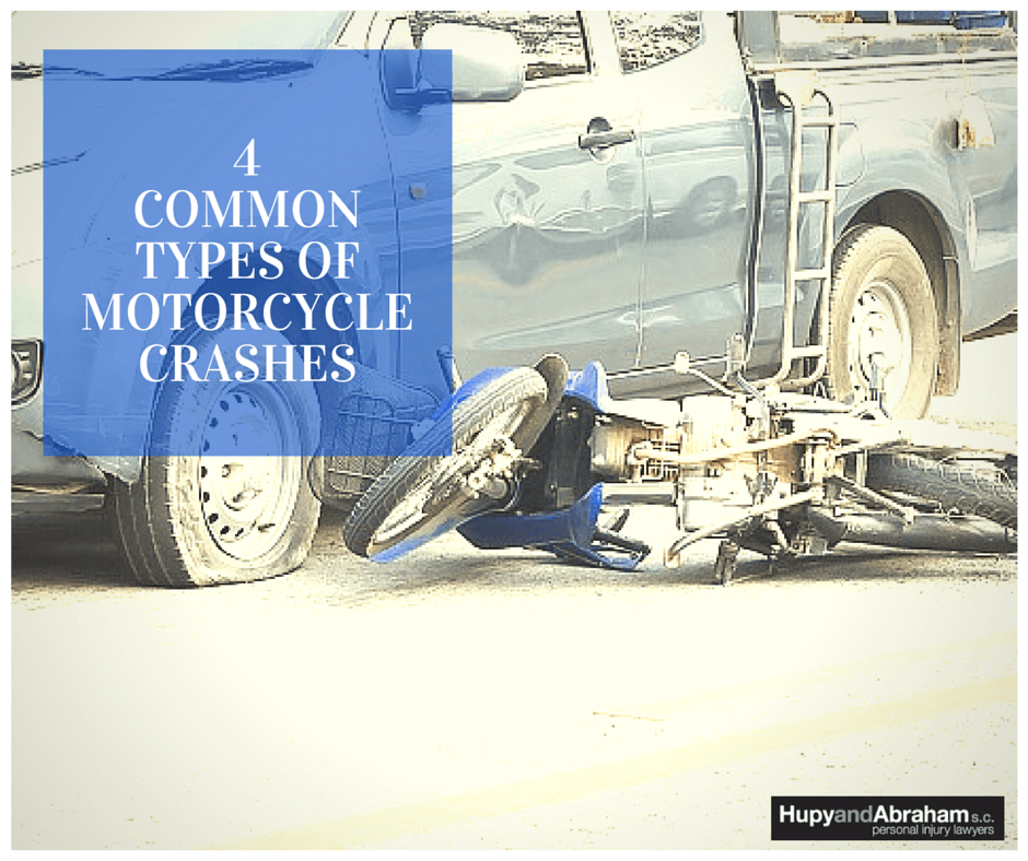 The type of motorcycle accident may influence your injuries and eventual recovery