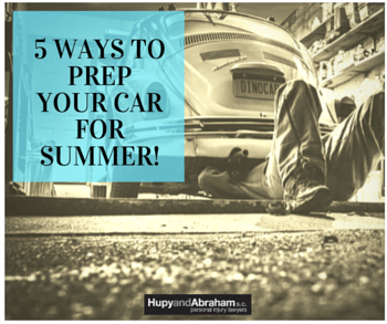 5 ways to prep your car for summer