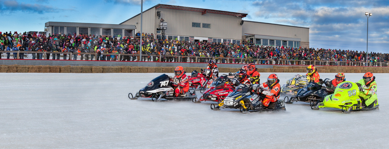 Snowmobile Derby