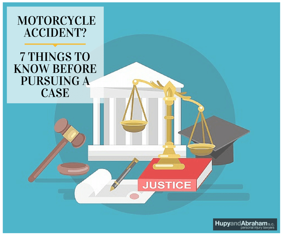 You should do your best to understand the Illinois legal process before you file a motorcycle accident claim