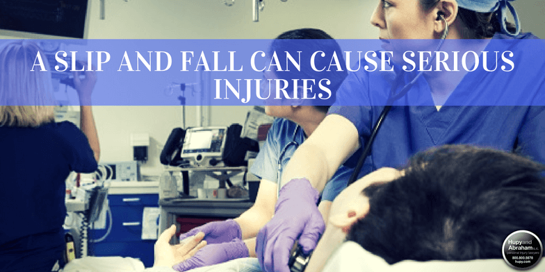A simple trip or fall can cause devastating injuries that require immediate medical treatment