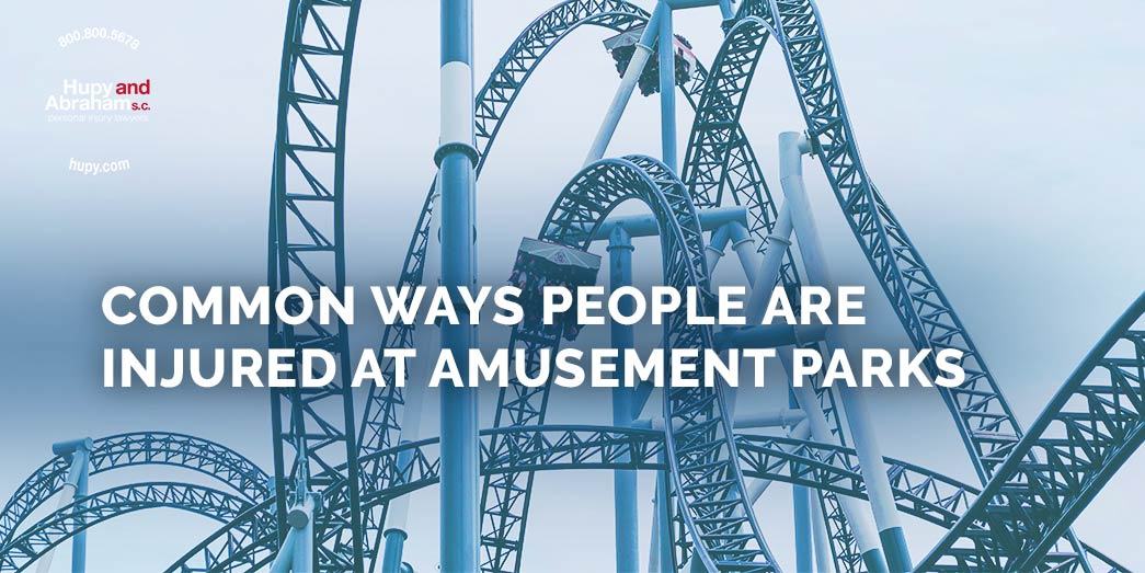 Common ways people are injured at amusement parks