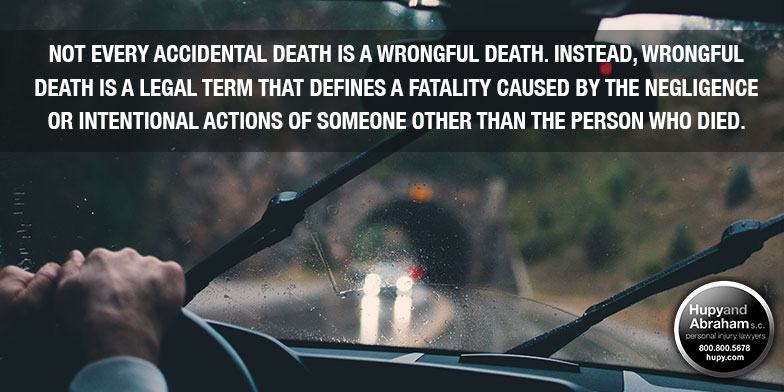 Any time a driver is negligent, a fatal crash can occur.