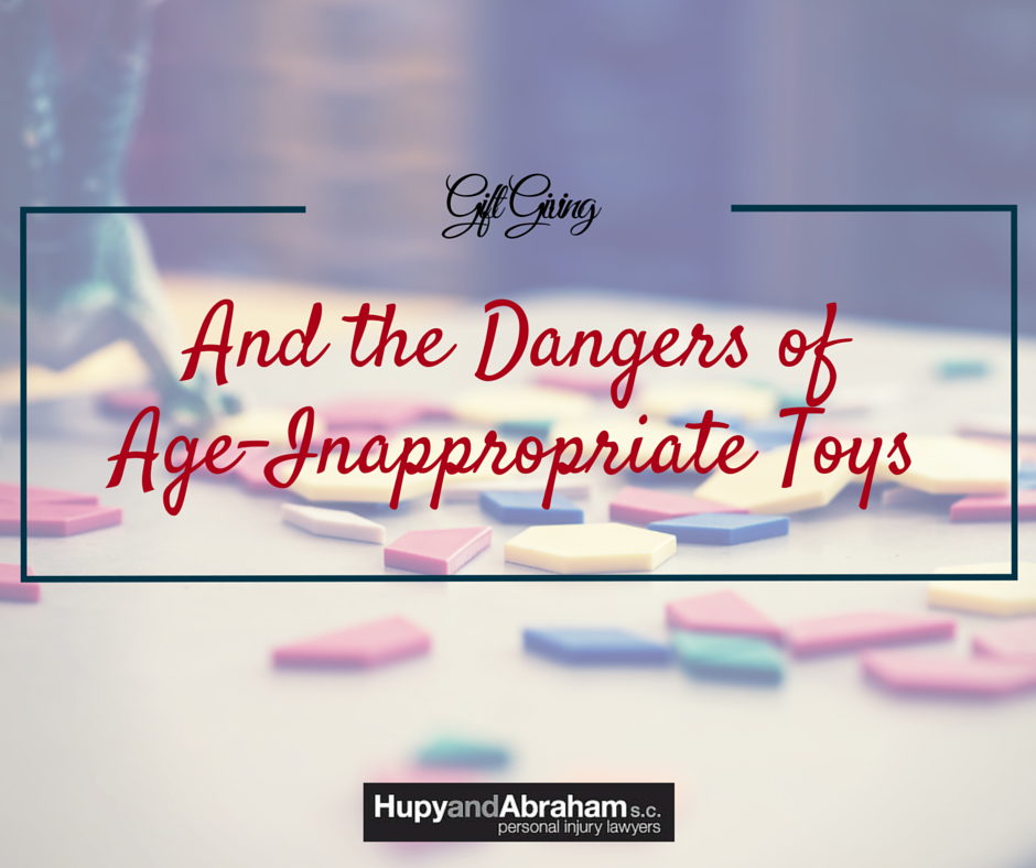 Age Inappropriate Toys